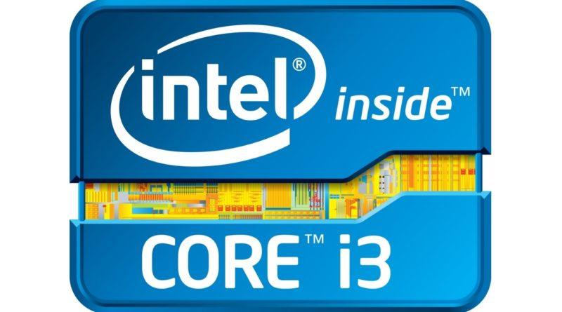 Logo de los procesadores Intel Core i3