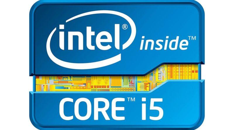 Logo de los procesadores Intel Core i5