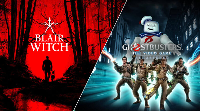 Blair Witch y Ghostbusters: The Video Game Remastered gratis en Epic Games