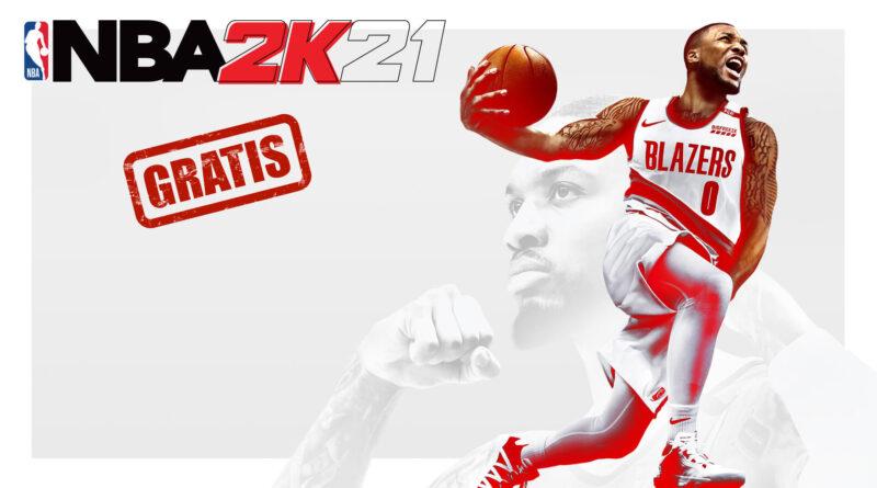 NBA 2k21 gratis en Epic Games